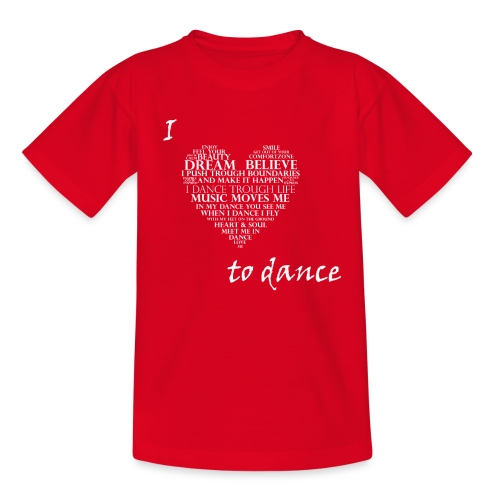 I love to dance - Kinderen T-shirt