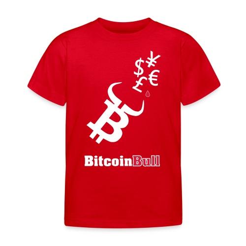 BitcoinBull - Camiseta niño