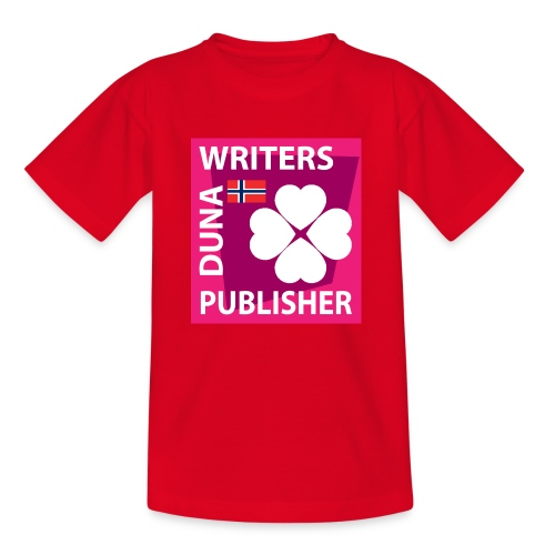 Duna Writers Publisher Pink - T-skjorte for barn