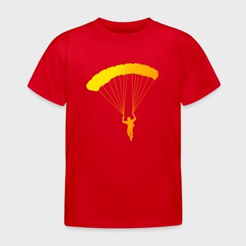 Colorfull Skydiver - Kinder T-Shirt