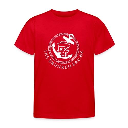 Drunken Sailor Logo Inv EPS - Kinder T-Shirt