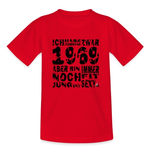 Sexy Jahrgang 1969 - Kinder T-Shirt