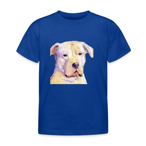 dogo argentino - Børne-T-shirt