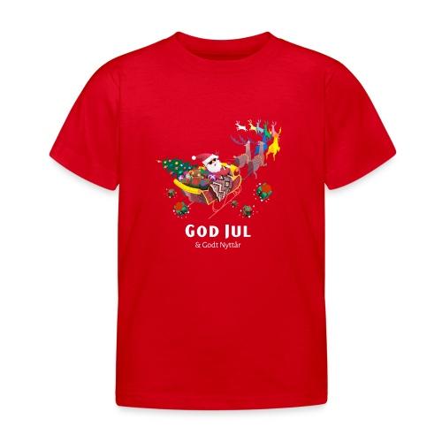god jul og godt nyttår - T-skjorte for barn