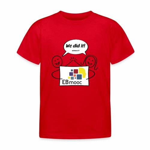 EBmooc 2017 Abschluss Comic - Kinder T-Shirt