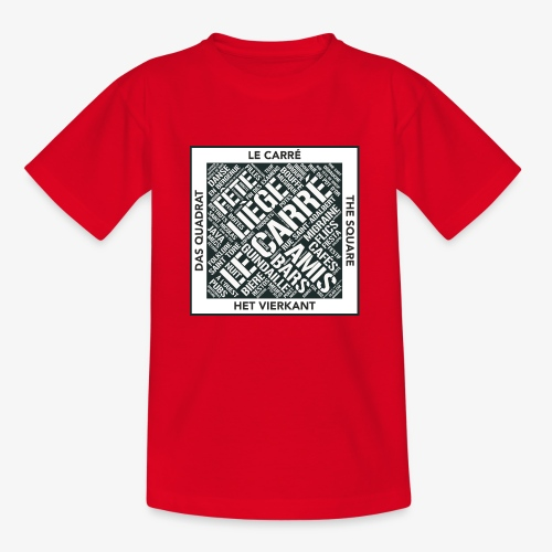 Le Carré - Liège - T-shirt Enfant