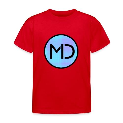 MD Blue Fibre Trans - Kids' T-Shirt