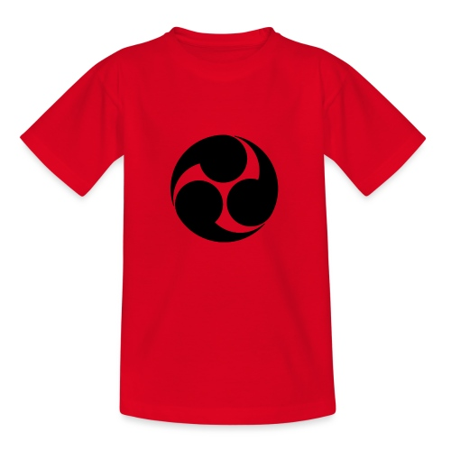 Kobayakawa Mon Japanese clan black - Kids' T-Shirt