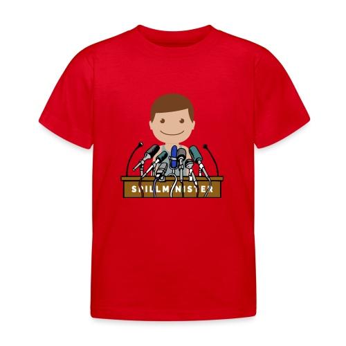 Spillminister logoen - T-skjorte for barn