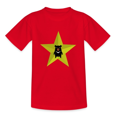 Teddy Star - Kinderen T-shirt