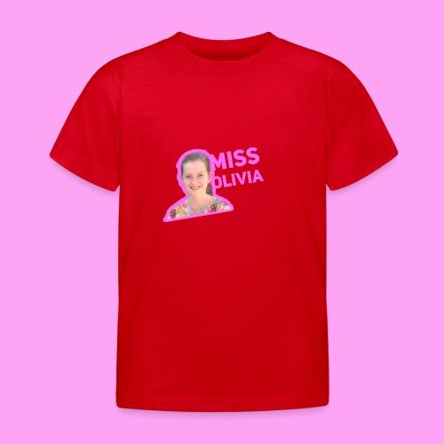 MissOlivia kindermerch - Kinderen T-shirt