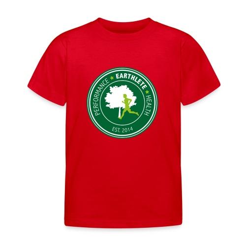 EARTHLETE Brand Logo - Børne-T-shirt