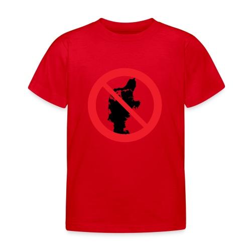 Jylland forbudt - Børnekollektion - Børne-T-shirt
