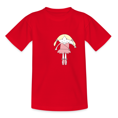 little ballerina - Kinder T-Shirt