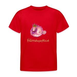 Tuttikugelfisch - Kinder T-Shirt