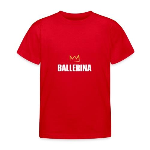 Ballerina - Kinder T-Shirt