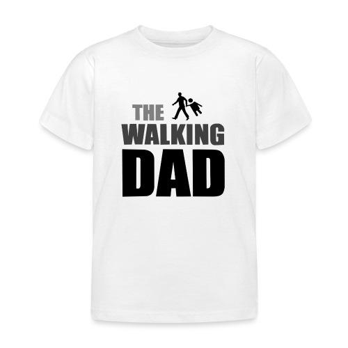 the walking dad auf dem Weg in die lustige Bar - Kinder T-Shirt