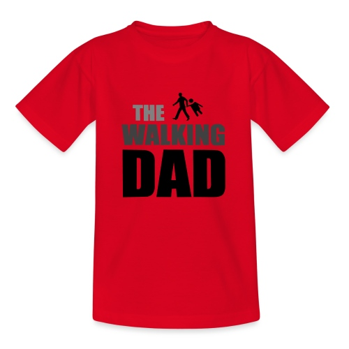 the walking dad auf dem Weg in die lustige Bar - Kinder T-Shirt