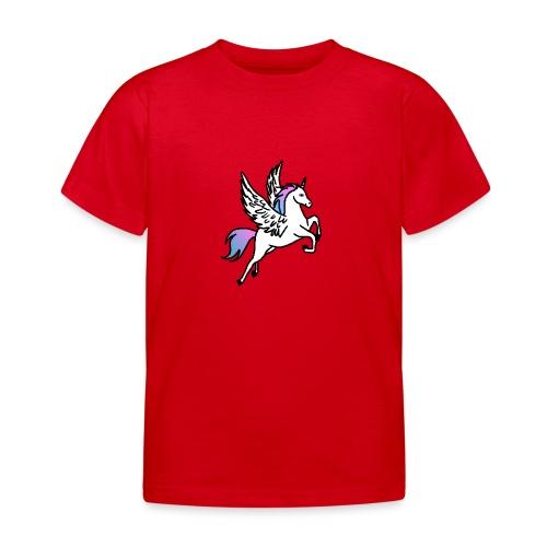 Fliegendes Einhorn - Kinder T-Shirt