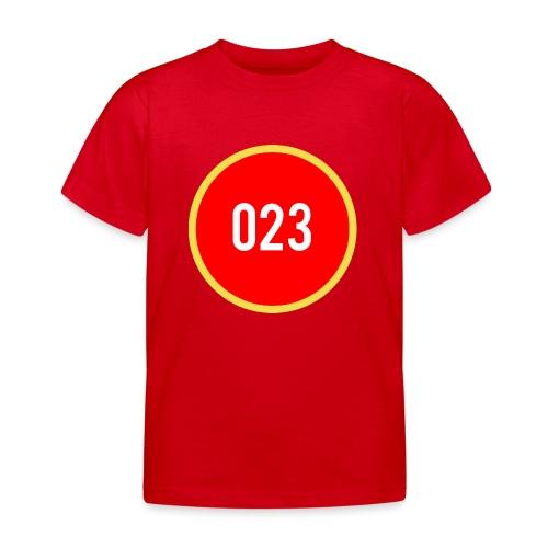 023 logo 2 - Kinderen T-shirt