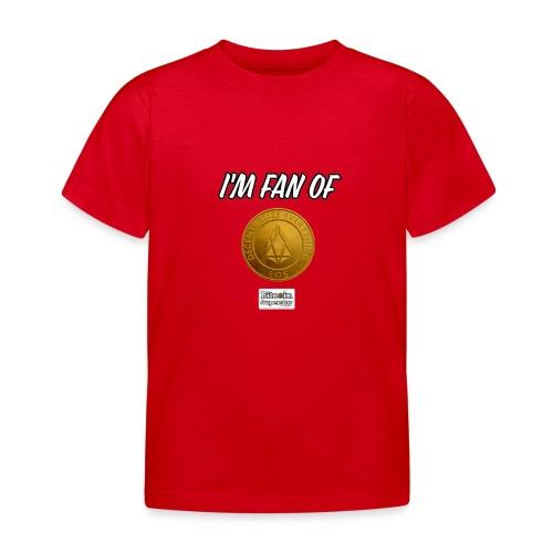 I'm fan of Eos - Maglietta per bambini