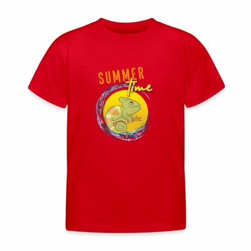 Chamäleon - Kinder T-Shirt