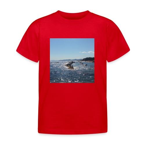 Mer avec roches - T-shirt Enfant