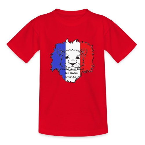 Lion supporter France - T-shirt Enfant