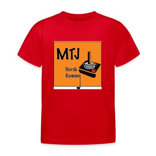 Mtj Logo - T-skjorte for barn