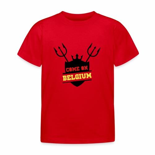 Come On Belgium - T-shirt Enfant