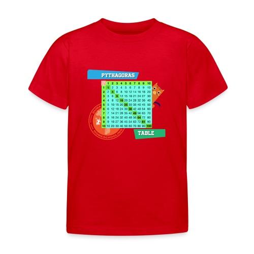 Pythagoras table - T-skjorte for barn