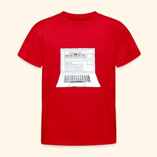 Laptop 20CENT Retail - T-shirt Enfant
