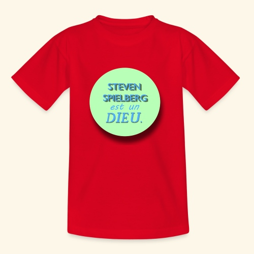 Steven Spielberg - Collection Flat Circle - T-shirt Enfant