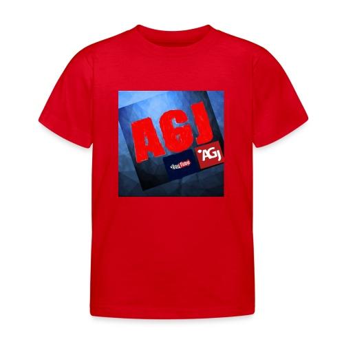 AGJ Nieuw logo design - Kinderen T-shirt