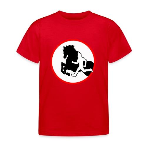 Horse Agility Logo - Kinder T-Shirt