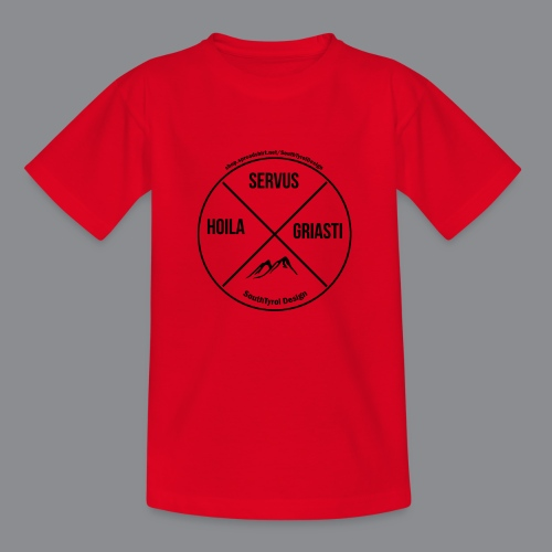 Hoila Servis Griasti - Kinder T-Shirt