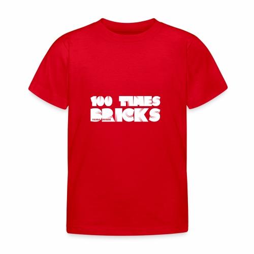 100 TIMES BRICKS retrò - Maglietta per bambini