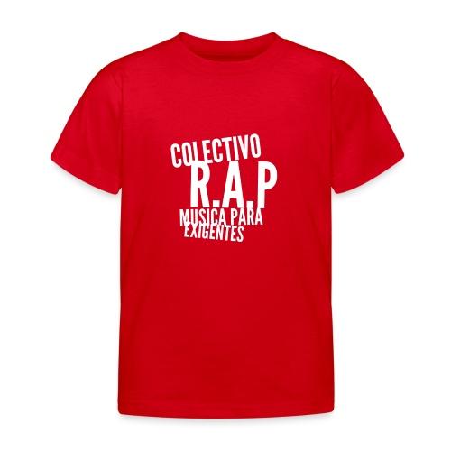 SOLO PARA AMANTES DEL RAP// Colectivo R.A.P - Camiseta niño