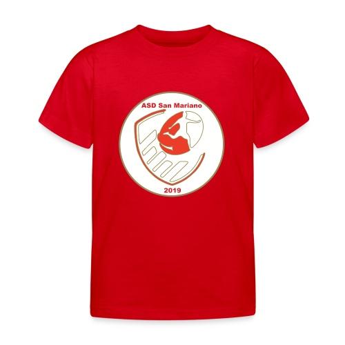 Logo ASD San Mariano 2019 - Maglietta per bambini