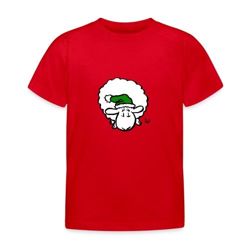 Santa Sheep (green) - T-skjorte for barn