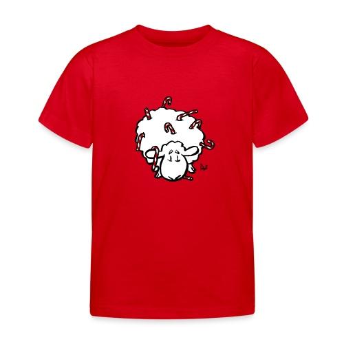 Candy Cane Sheep - Kids' T-Shirt