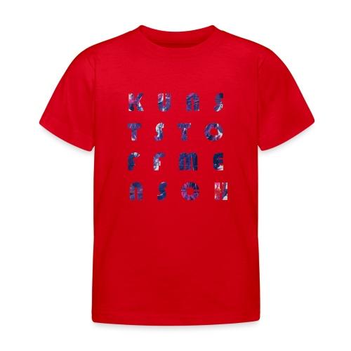 KunstStoffMensch #5 - Kinder T-Shirt