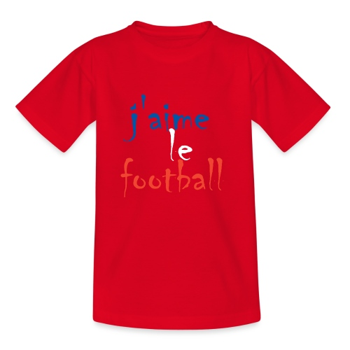 j' aime le football - Kinder T-Shirt