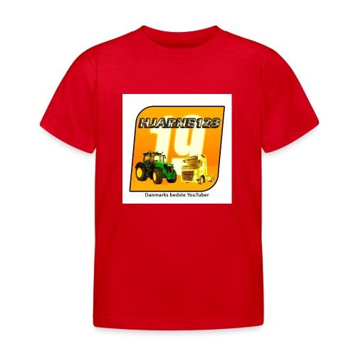 hjarne 123 danmarks bedeste youtuber - Børne-T-shirt