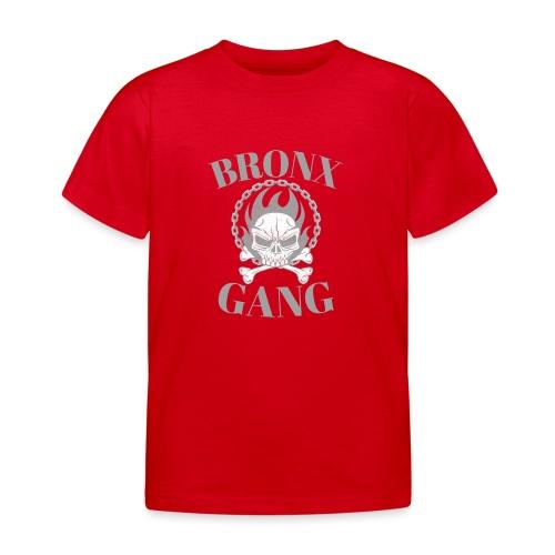 bronx gang flamme tête de mort - T-shirt Enfant