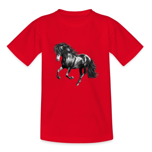 Indian Horse - Kinder T-Shirt