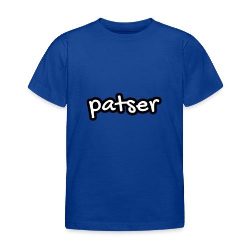 Patser - Basic White - Kinderen T-shirt