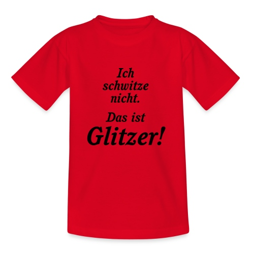 Glitzer - Kinder T-Shirt