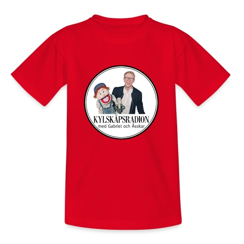 Kylskåpsradions logga - T-shirt barn