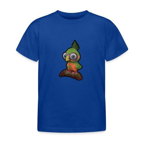 A bird sitting on a branch - Kids' T-Shirt